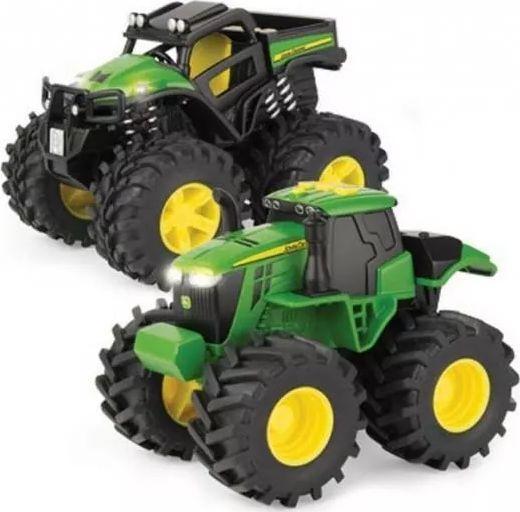 Tomy John Deere traktor monster dwupak 1