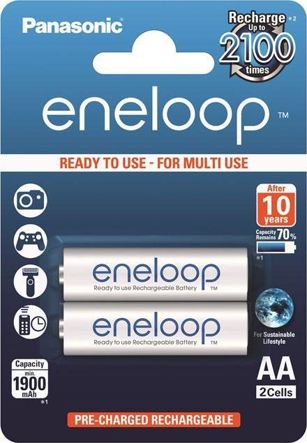 Panasonic Akumulator Eneloop AA / R6 1900mAh 2szt. 1