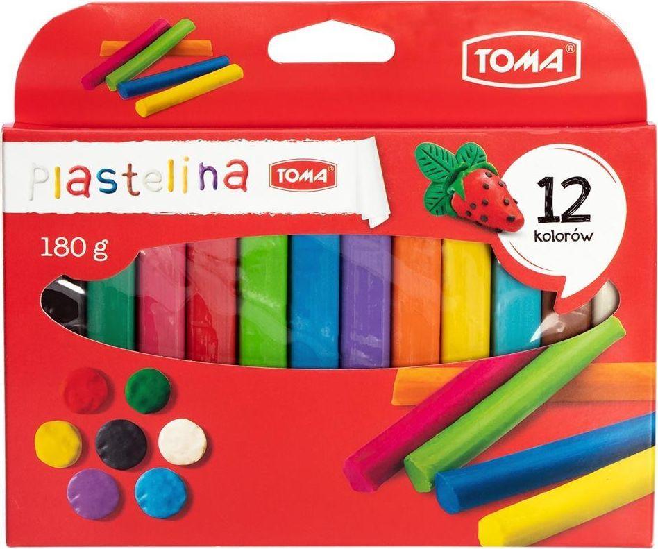 Toma Plastelina 12 kolorów 1