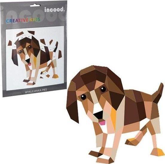 Incood Zestaw kreatywny do wyklejania Pies 1