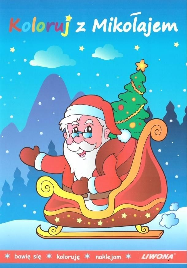 Koloruj z Mikołajem 1