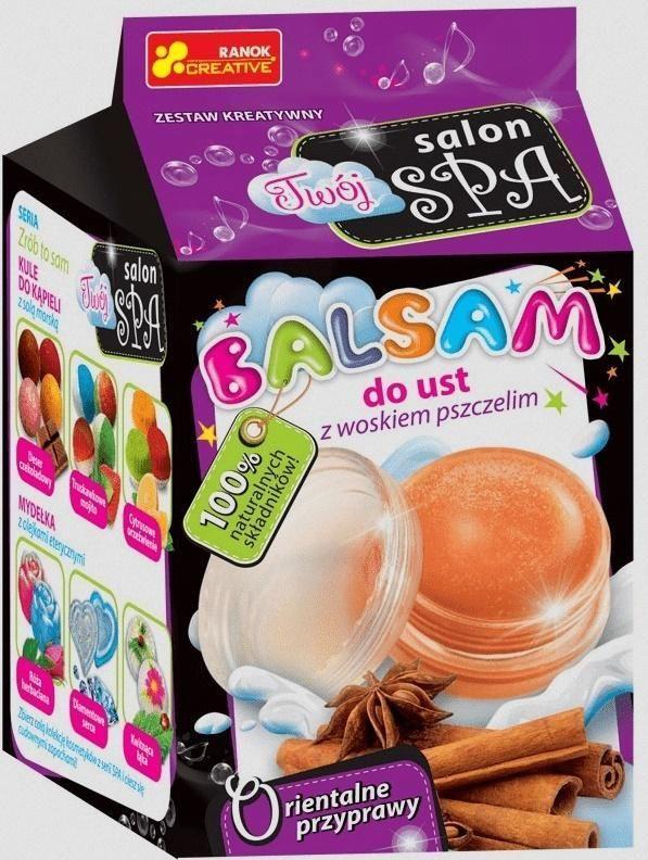 Ranok Balsam do ust z woskiem p. Orientalne przyprawy 1