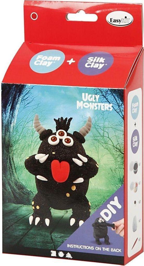 Creative Company Zestaw Śmieszny Potworek czarny 1