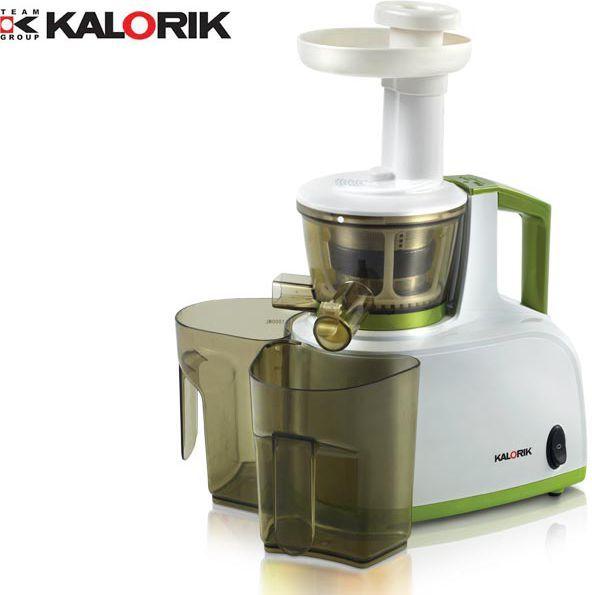 Wyciskarka wolnoobrotowa Kalorik FE 1000 Biało-zielona 1