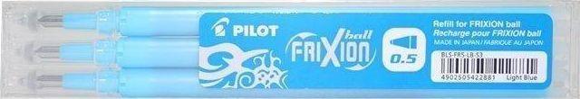Pilot Wkład FriXion Ball Clicker 0,5 lazur (3szt) PILOT 1