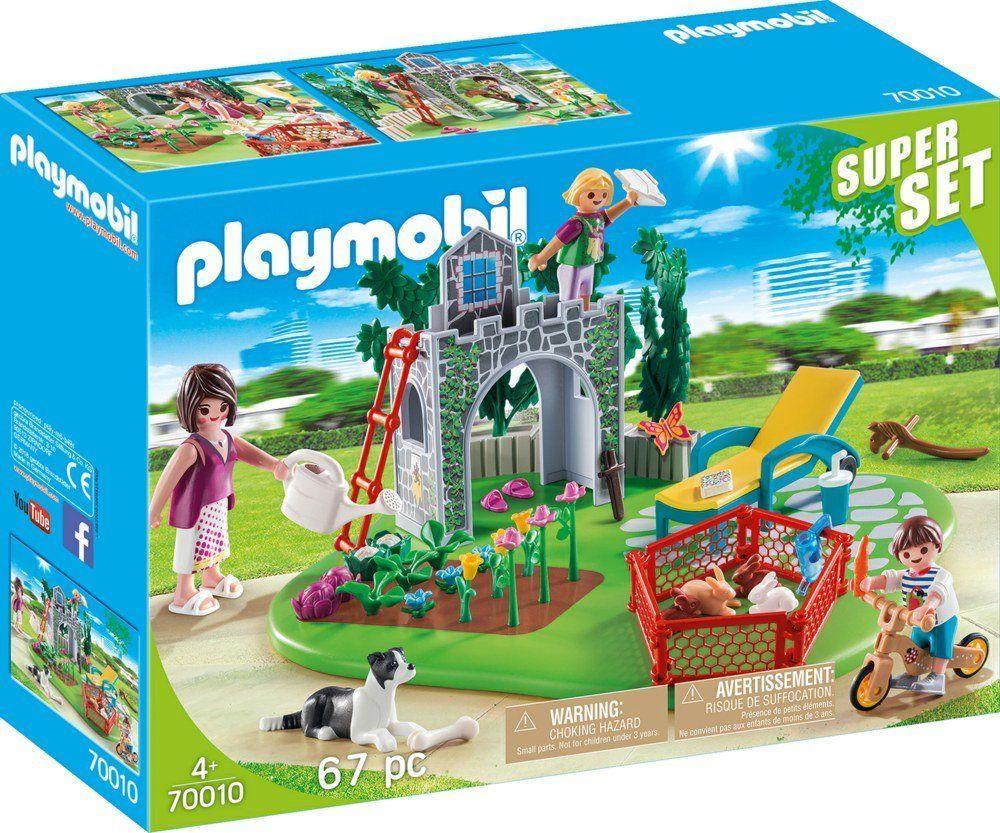 Playmobil Super Set Rodzina w ogrodzie 1
