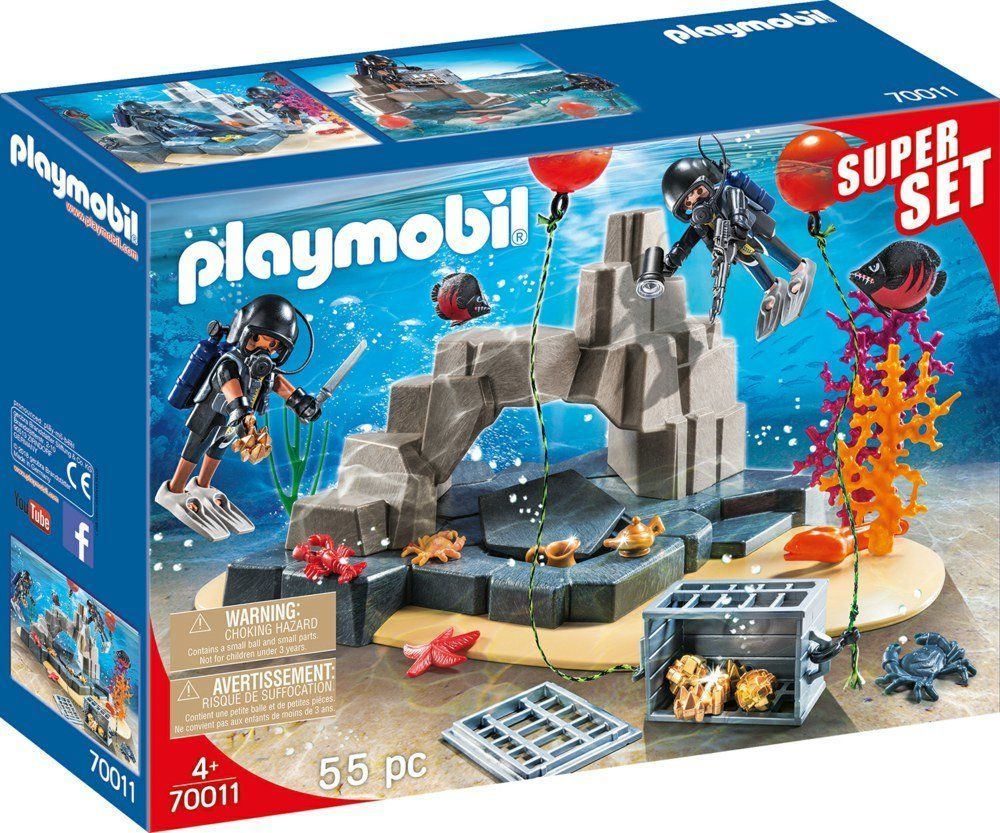 Playmobil Super Set Akcja jednostki płetwonurków (70011) 1