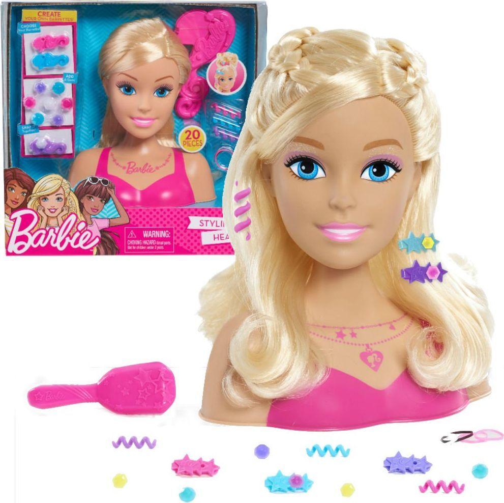 Just Play Just Play Barbie głowa do stylizacji blond 1