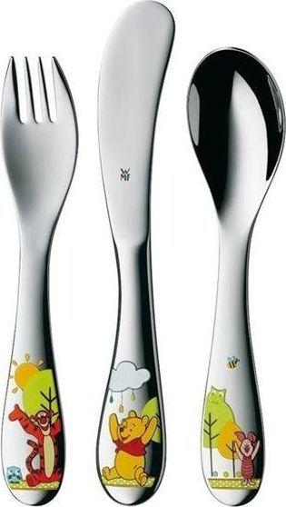 WMF Sztućce dla dzieci Kubuś Puchatek srebrne 3 elementy (1283516040) 1