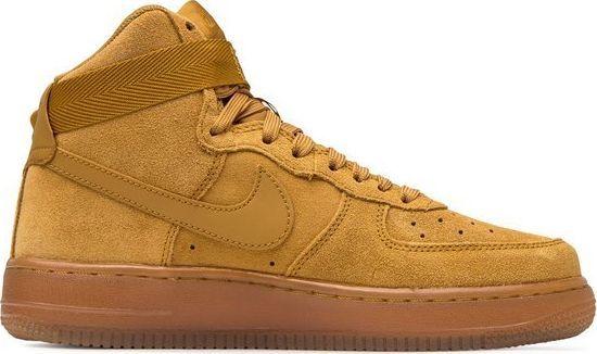 Buty do koszykówki męskie Nike Air Force 1 High brązowe