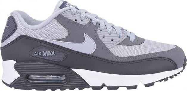 Nike Air Max 90 Męskie Skóra Niebieskie Szare Białe R.42