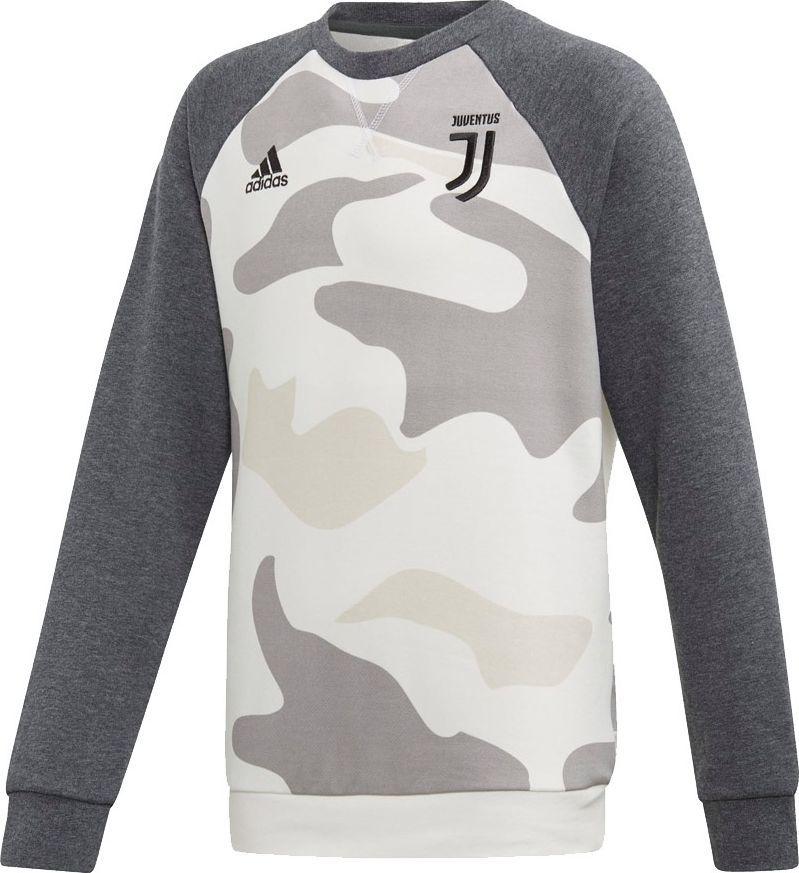 Adidas Bluza chłopięca Juventus Kids Crew szara r. 164 cm (DX9209) ID produktu: 6408917