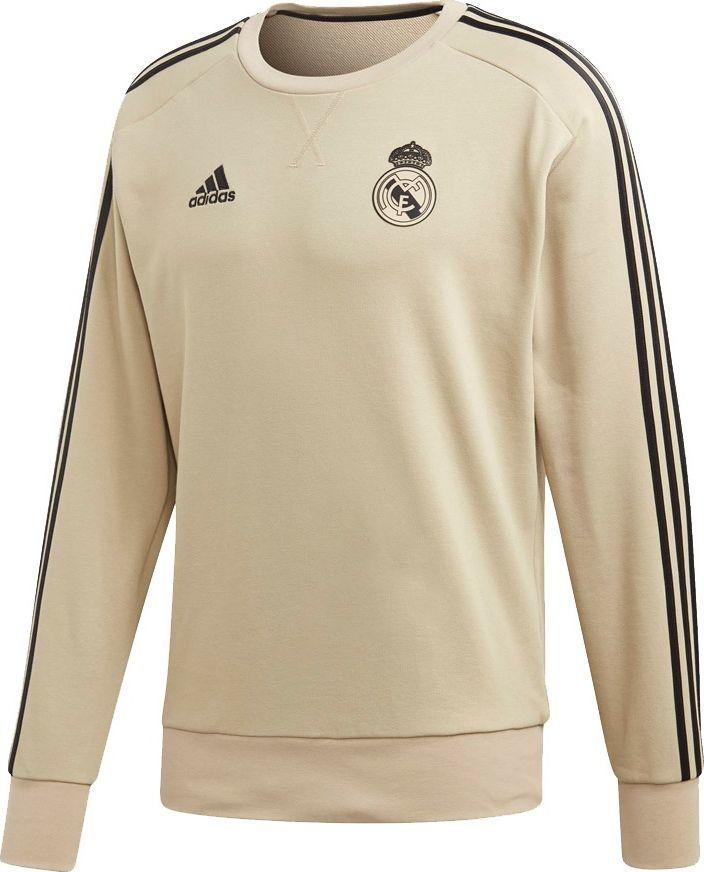 Adidas Bluza męska Real Madryt Sweat Top beżowa r. L (EI7468) ID produktu: 6408932