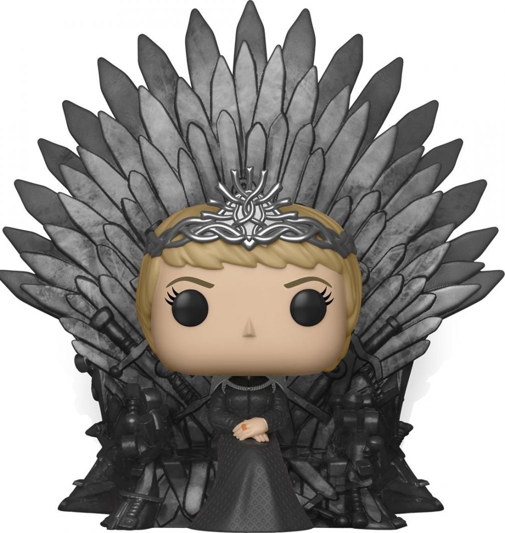 Figurka Funko POP Deluxe: Game of Thrones S10 - Cersei Lannister Sitting on Iron Throne 1