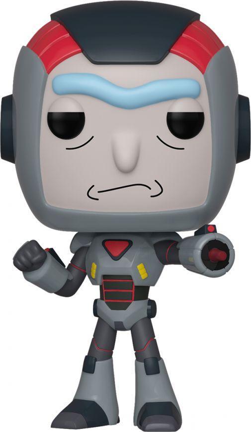 Figurka Funko POP Animation: R&M S6: Rick in Mech Suit 1