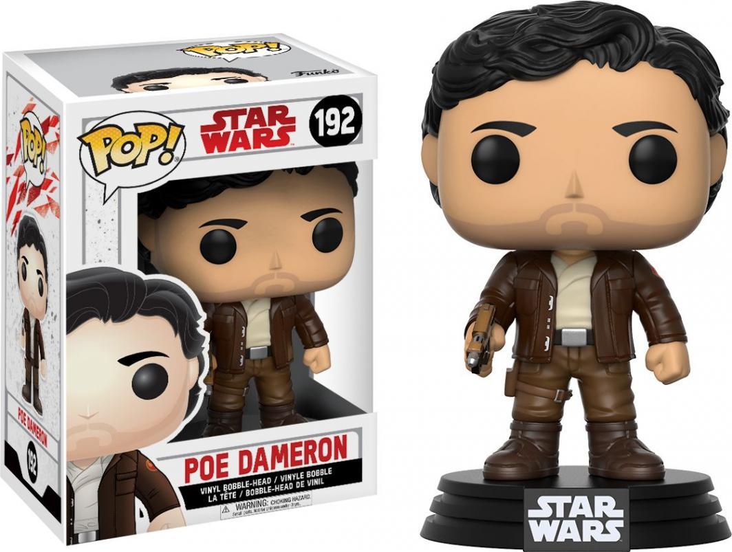 Figurka Funko POP Star Wars Bobble: E8 Poe Dameron 1