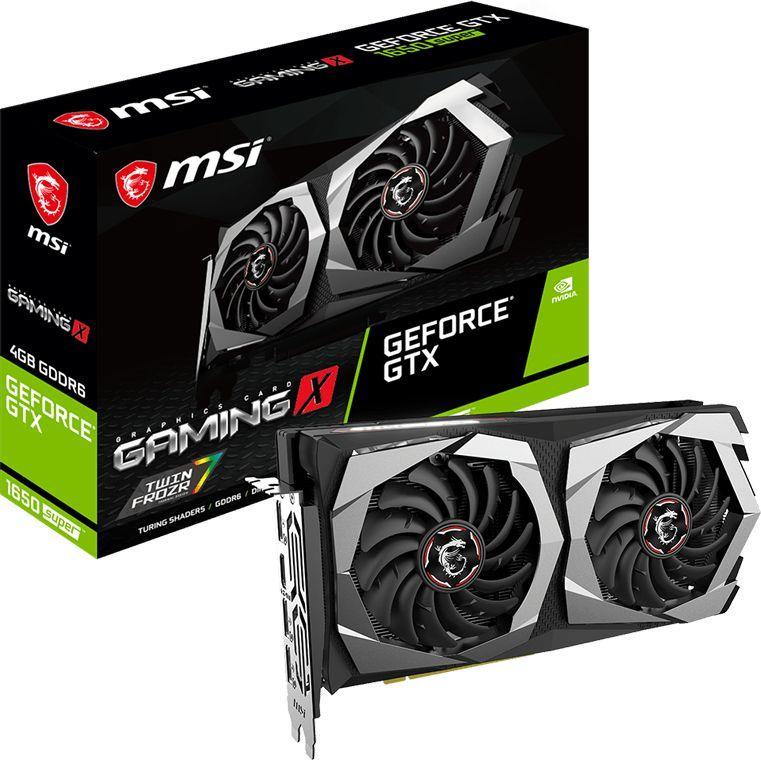 Karta graficzna MSI GeForce GTX 1650 SUPER Gaming X 4GB GDDR6 (GTX 1650 SUPER GAMING X) 1
