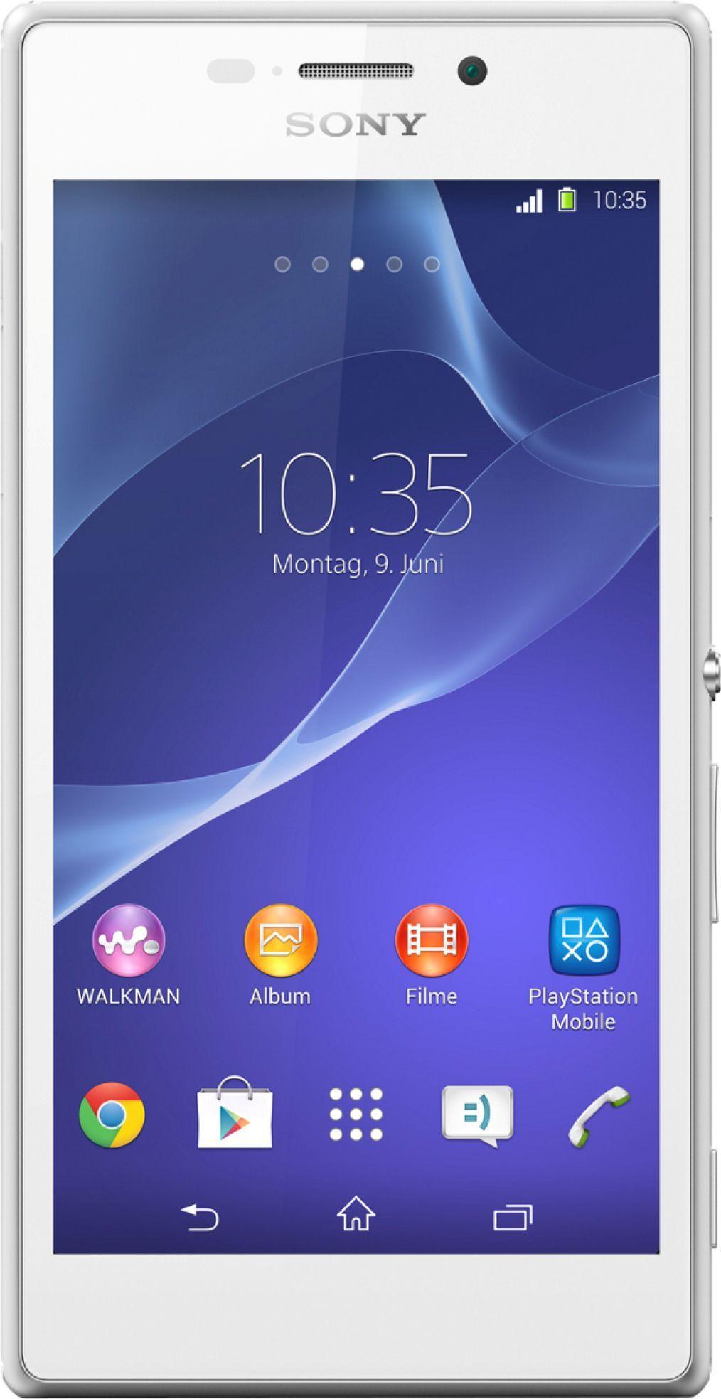 Smartfon Sony 8 GB Biały  (1281-0075) 1