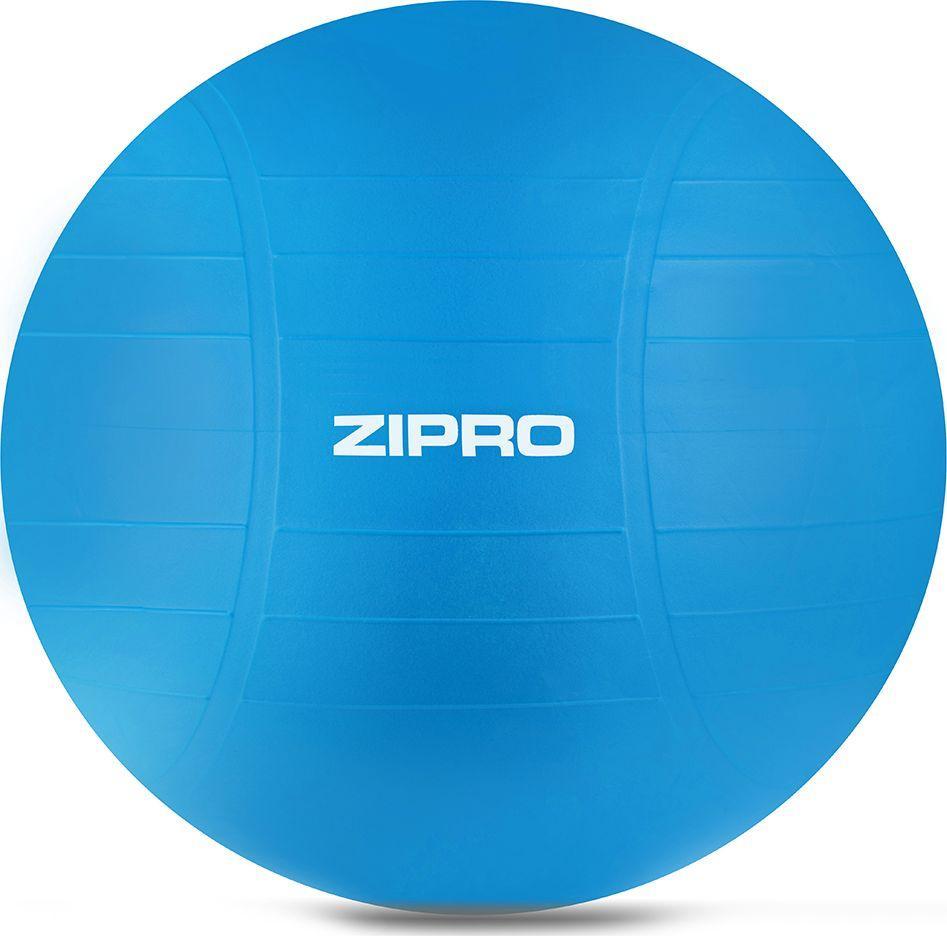 Zipro Piłka gimnastyczna Anti-Burst wzmocniona blue 65cm 1