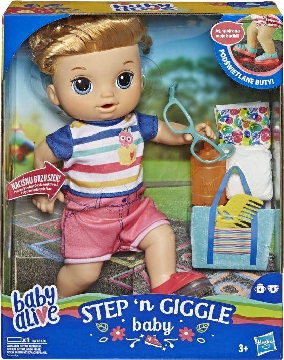 Hasbro Lalka Świecące buciki Blondyn (E5244) 1