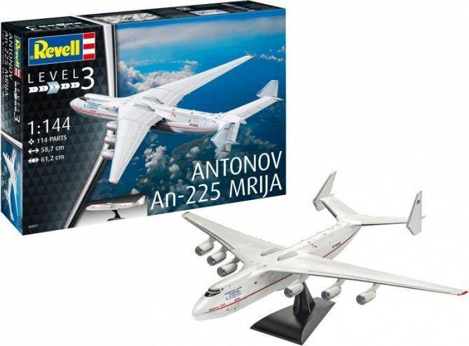 Revell Model plastikowy Antonov AN-225 Mrija 1