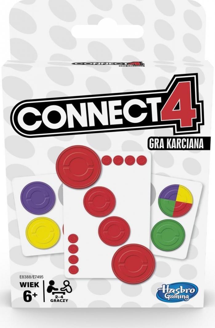 Hasbro Gra karciana Connect 4 (E8388) 1