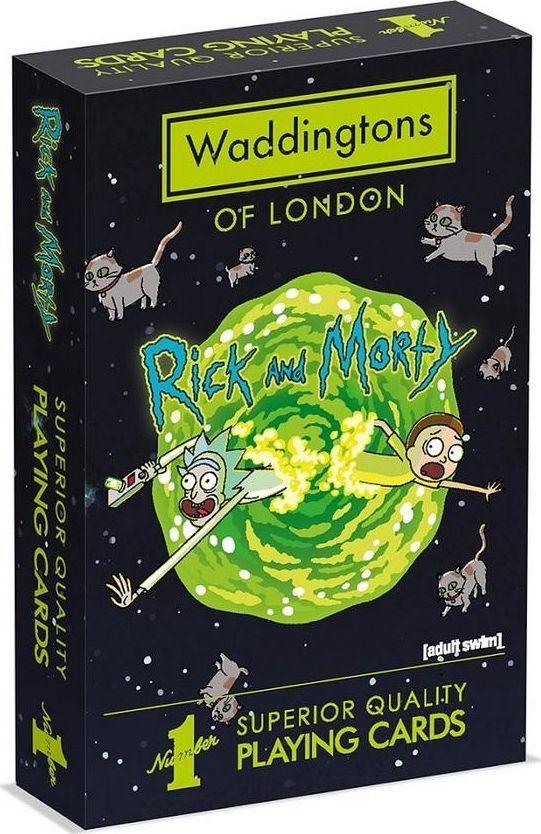 Winning Moves Karty Waddingtons Rick&Morty 1