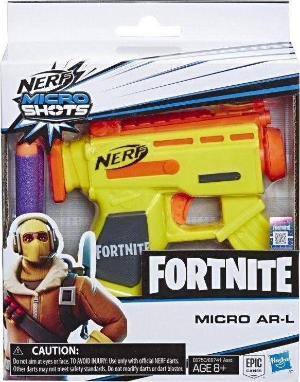 Hasbro Wyrzutnia Nerf Microshots Fortnite AR L (E6750) 1