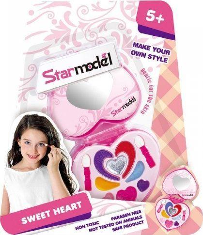 Starmodel Zestaw do makijażu słodkie serce 1