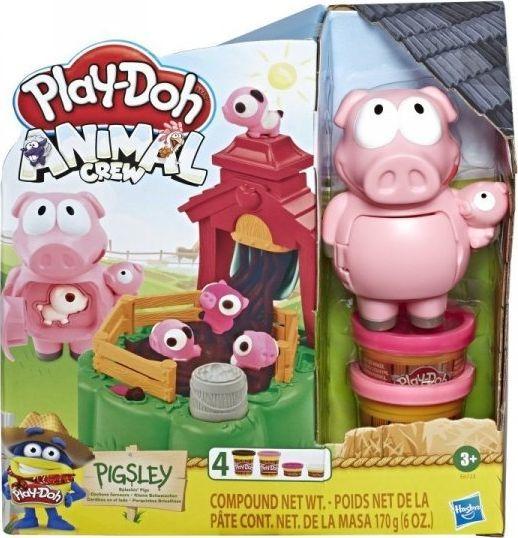 Hasbro Masa plastyczna PlayDoh Farma Błotne Świnki (E6723) 1