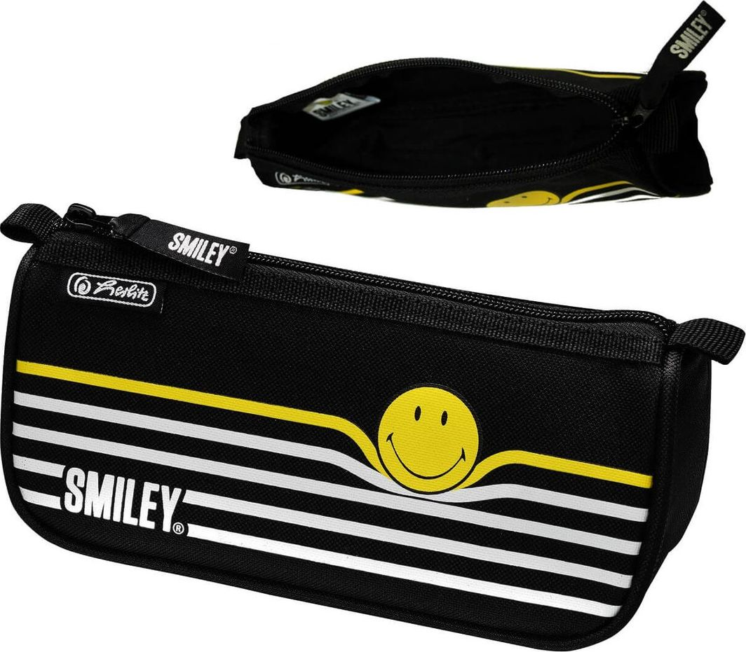 Piórnik Herlitz Herlitz Faulenzer Sport SmileyWorld Black Stripes 1