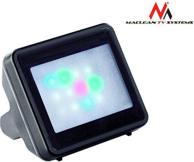 Maclean Symulator telewizora TVSYM01 Czarny 1