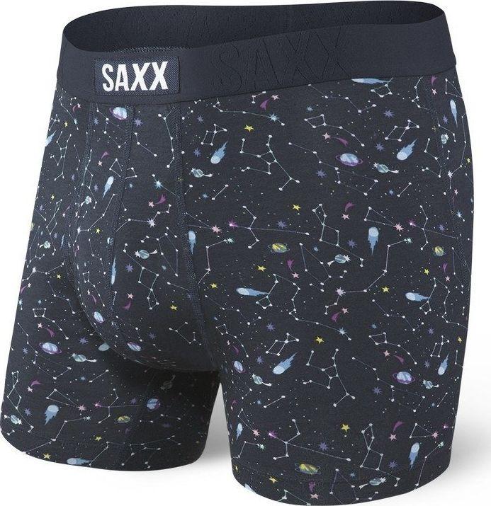 SAXX Bokserki męskie Undercover Boxer Br Fly Navy Astro r. S 1