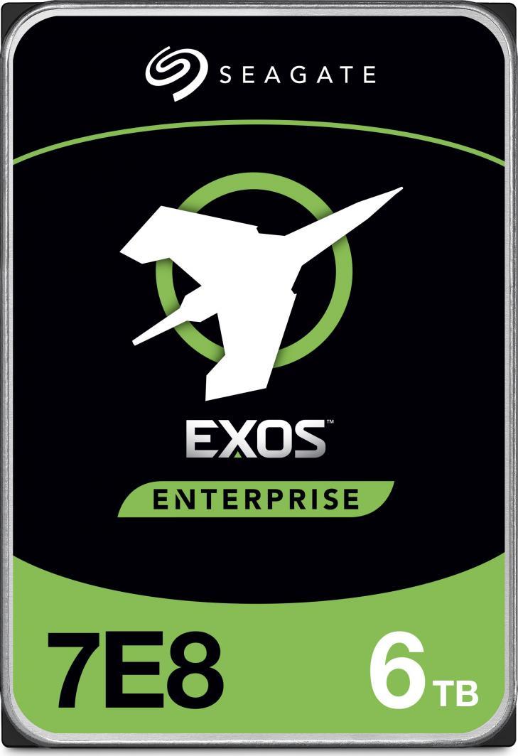 Dysk serwerowy Seagate Exos 7E8 6 TB 3.5'' SATA III (6 Gb/s)  (ST6000NM002A) 1