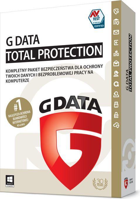 Gdata Total Protection 1 stanowisko 2 lata BOX (082502) 1