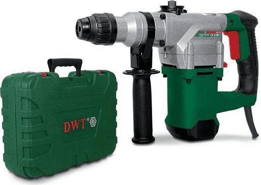 Dewalt DWT młot wiercąco-kujący SDS-PLUS 1050W 4J walizka + osprzę (BH11-28BMC) 1