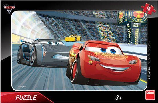 Dino Puzzle 15 elementów Cars 3 1