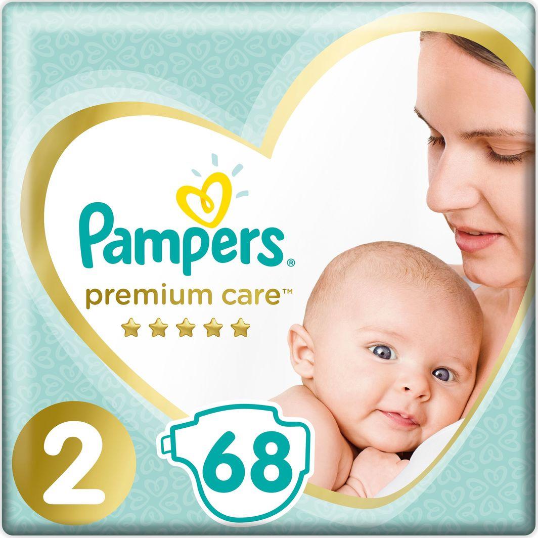 Pampers Zestaw pieluch Premium Care VP 2 (4-8 kg) 68 szt. 1