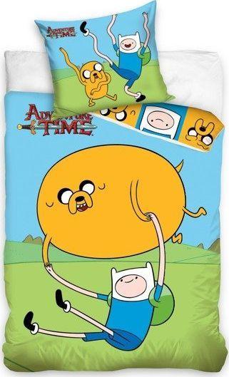 Carbotex Pościel Licencyjna Dziecięca 888 Adventure Time Wielokolorowa 160x200 NP 2 CZĘŚCI 1
