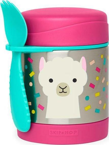 Skip Hop Termos obiadowy Zoo 325ml Lama różowy 1