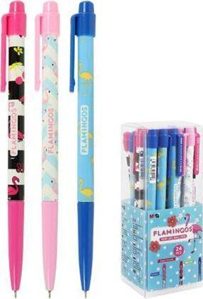 Titanum Długopis żelowy Flamingo niebieski 1