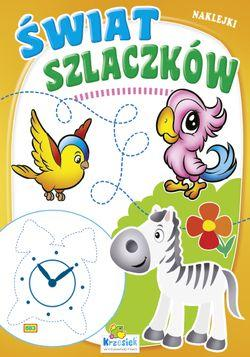 Świat szlaczków - Zebra i papuga (A5, 16 str.) 1