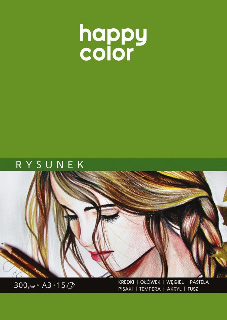 Happy Color Szkicownik A3 15k biały  1