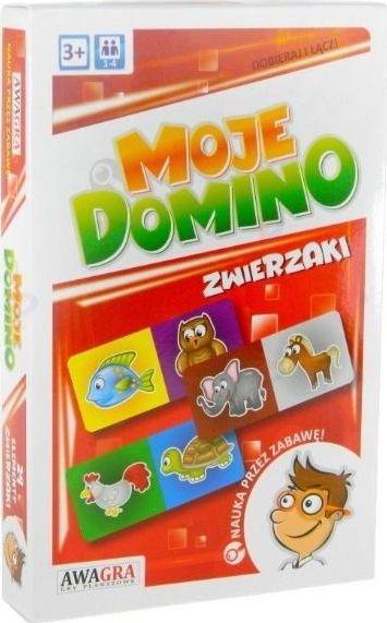 Artyk Układanka. Domino zwierzaki 1