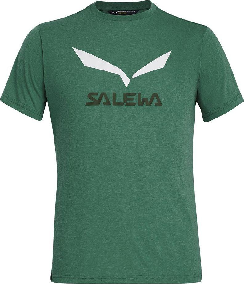 Salewa Koszulka męska SOLIDLOGO DRY M S/S TEE myrtle melange r. L 1