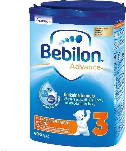 Nutricia Bebilon Junior 3 z Pronutra+ prosz. 800g 1