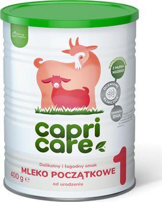 Miralex CAPRICARE 1 Mleko początkowe oparte namle 400g 1