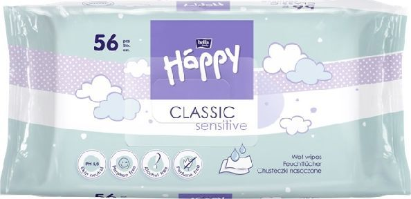 Bella Happy CLASSICchusteczki nasaczoneA 56 SE 1