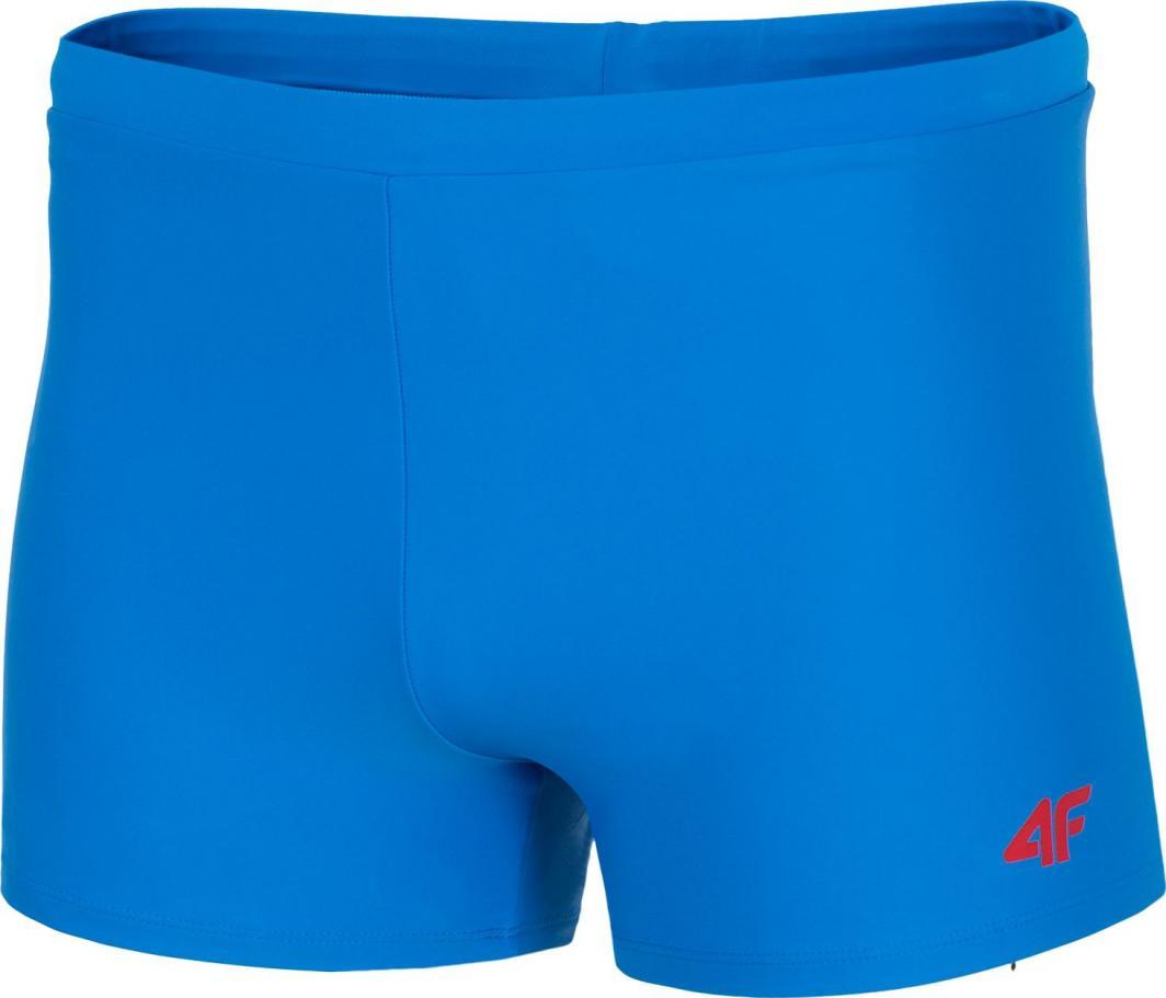 4f Kąpielówki męskie H4L20-MAJM002 niebieskie r. L 1