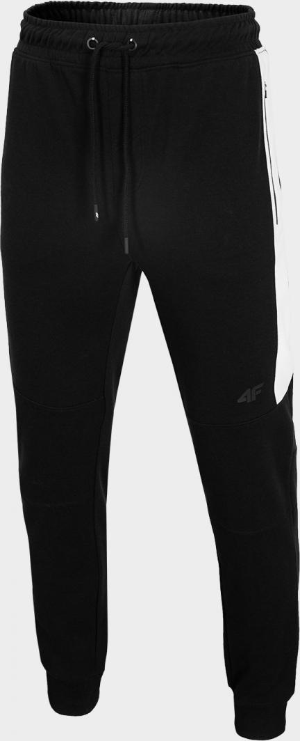 4f Spodnie męskie H4L20 SPMD002 czarne r. L ID produktu: 6427789